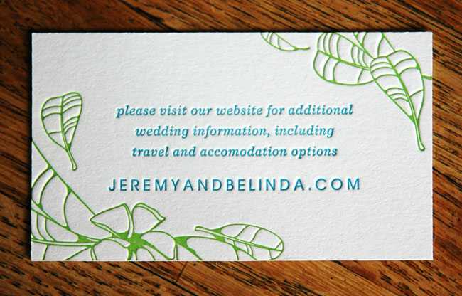 Press engaged letterpress design wedding invitation suite information card 2 colors 35x2 inches stopboris Choice Image
