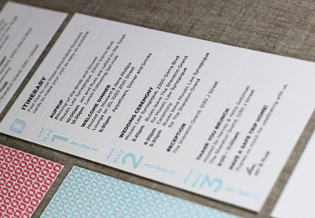 Press Engaged Letterpress & Design | Wedding Invitation Suite